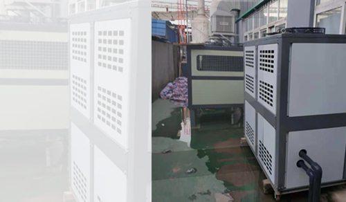 工位空调和热泵客户使用现场