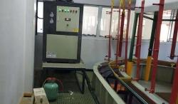 镀焦铜热泵使用现场
