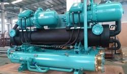 海水养殖螺杆热泵