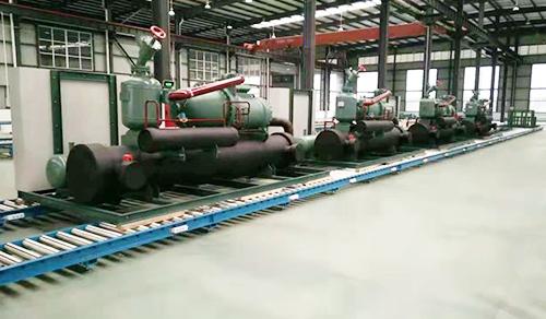 螺杆式低温冷水机组